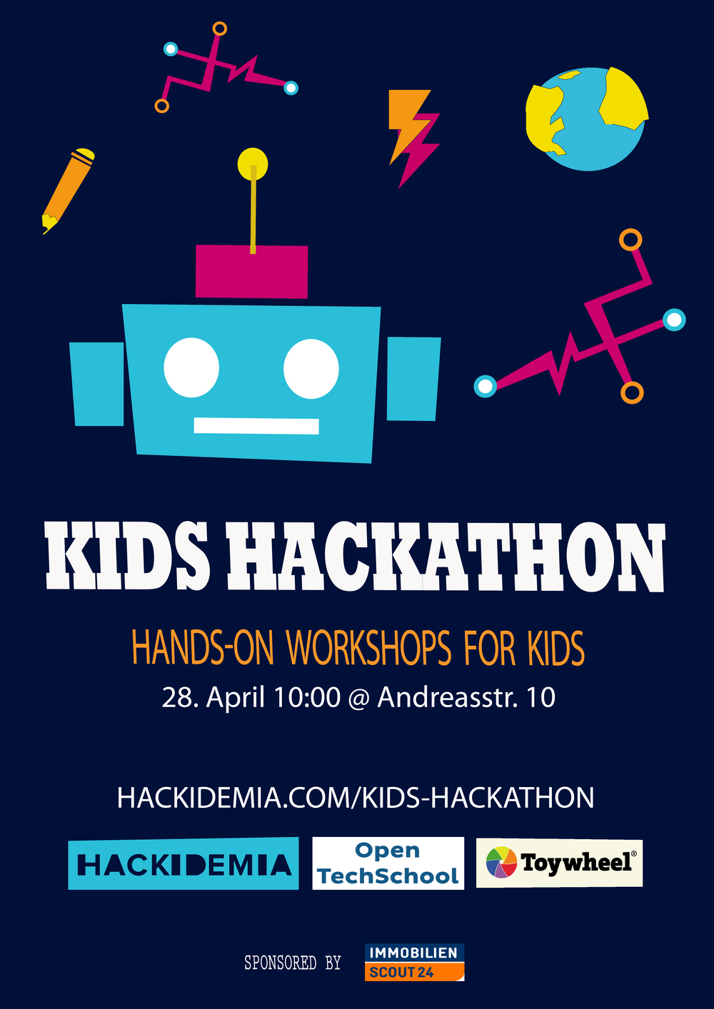 First Hackathon For Kids In Berlin Hackidemia