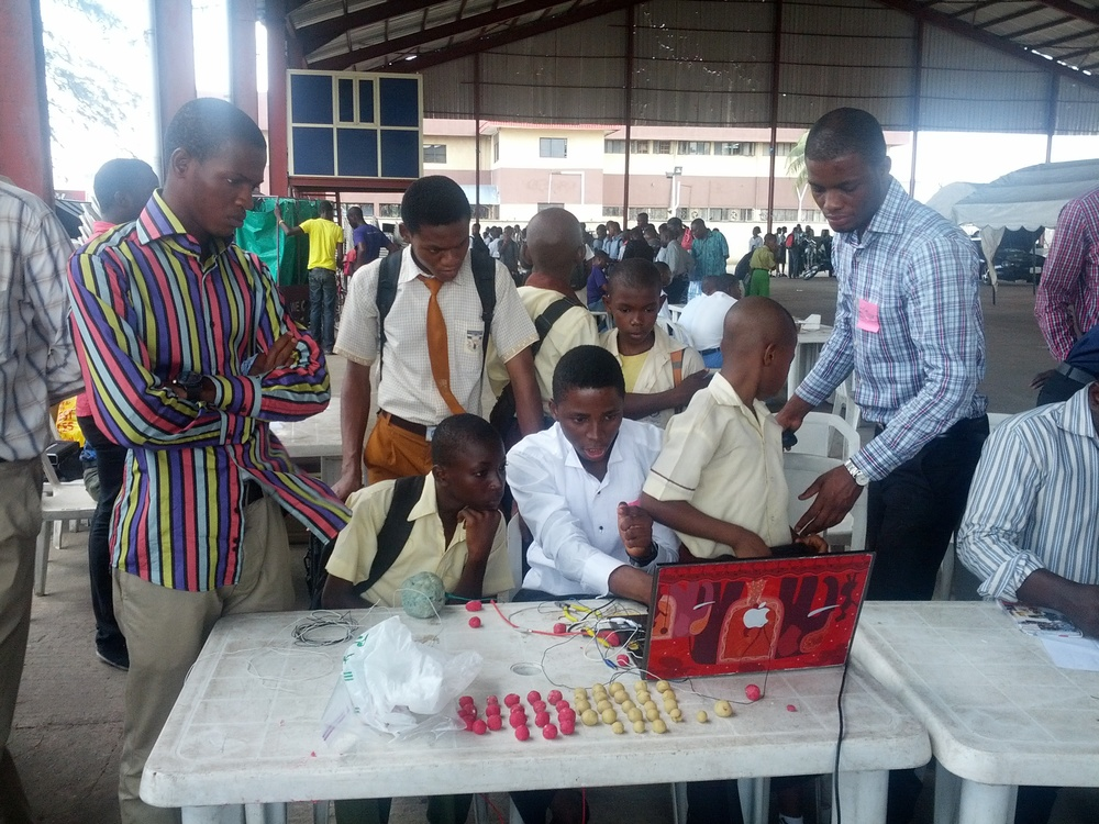 Picture from HacKIDemia workshops in Nigeria, Lagos 2012