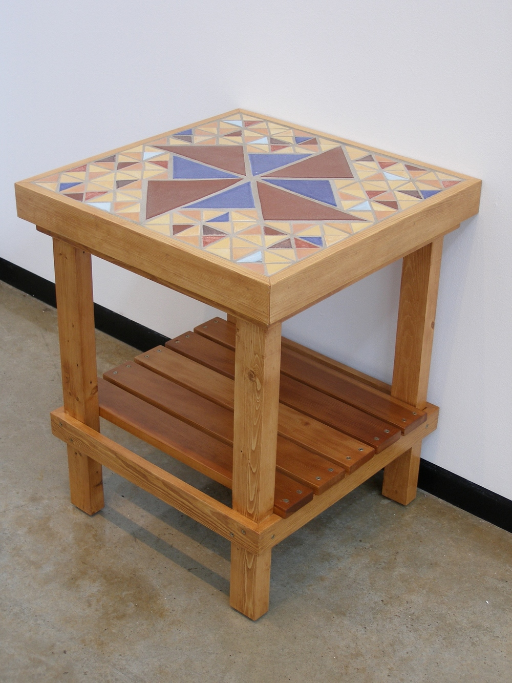 Tile End Table