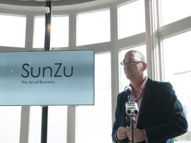 The art of business is knowledge, founder of social network SunZu said Lyndon Wood, founder of SunZu