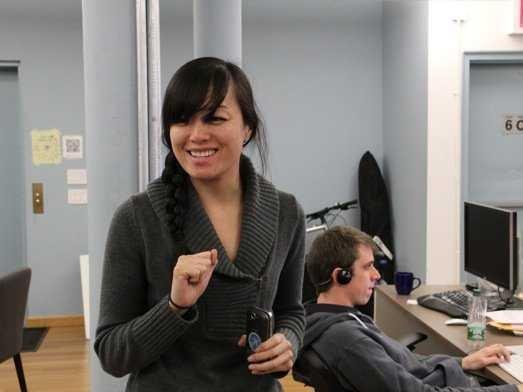 Mari Sheibley, first designer at Foursquare
