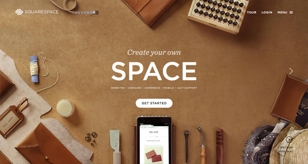 Desk Top View showcase of web designs based on a desk top view — squarespace