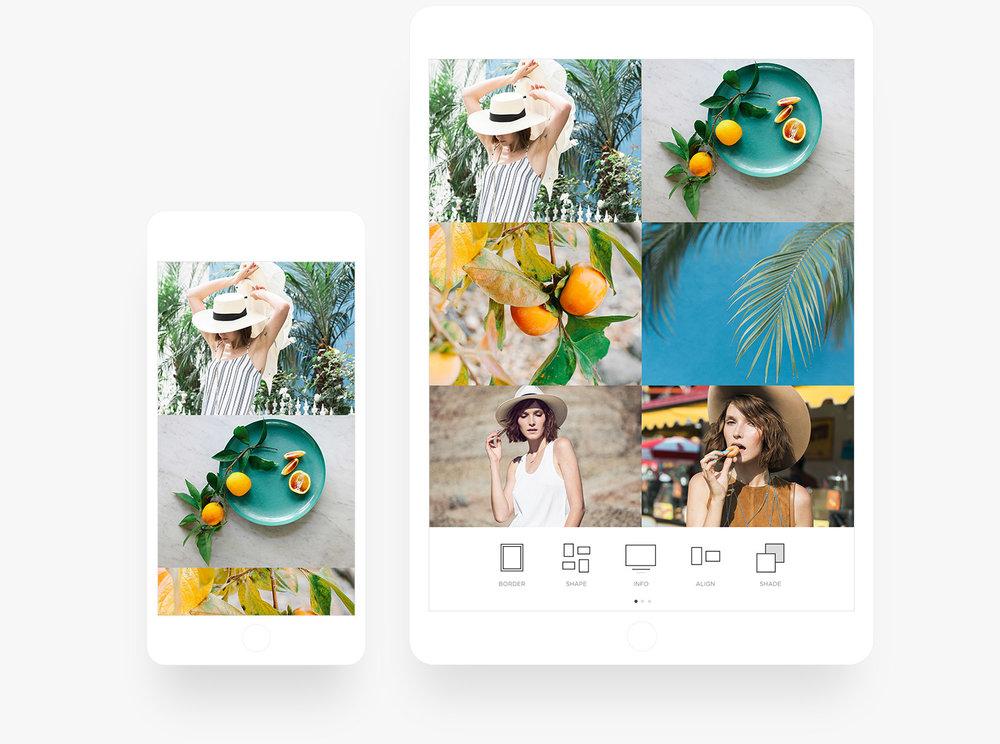 Aplicativo de Portfólio de Fotografia do Squarespace para iPhone e iPad