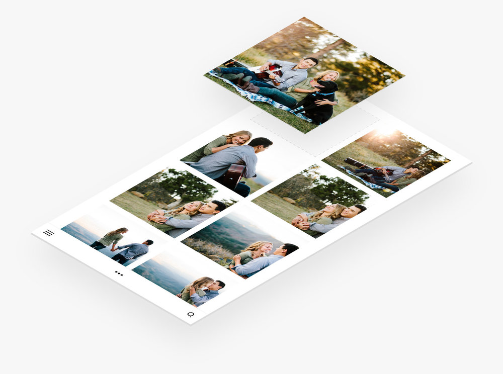 Galerías de fotos y videos de la página de bodas