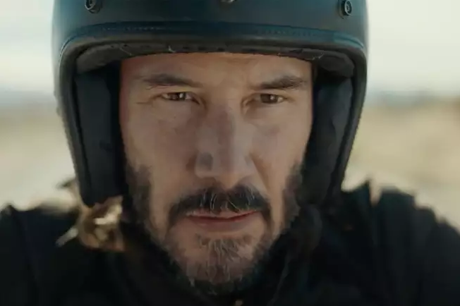 Keanu Reeves explore Squarespace in upcoming Super Bowl Ad.