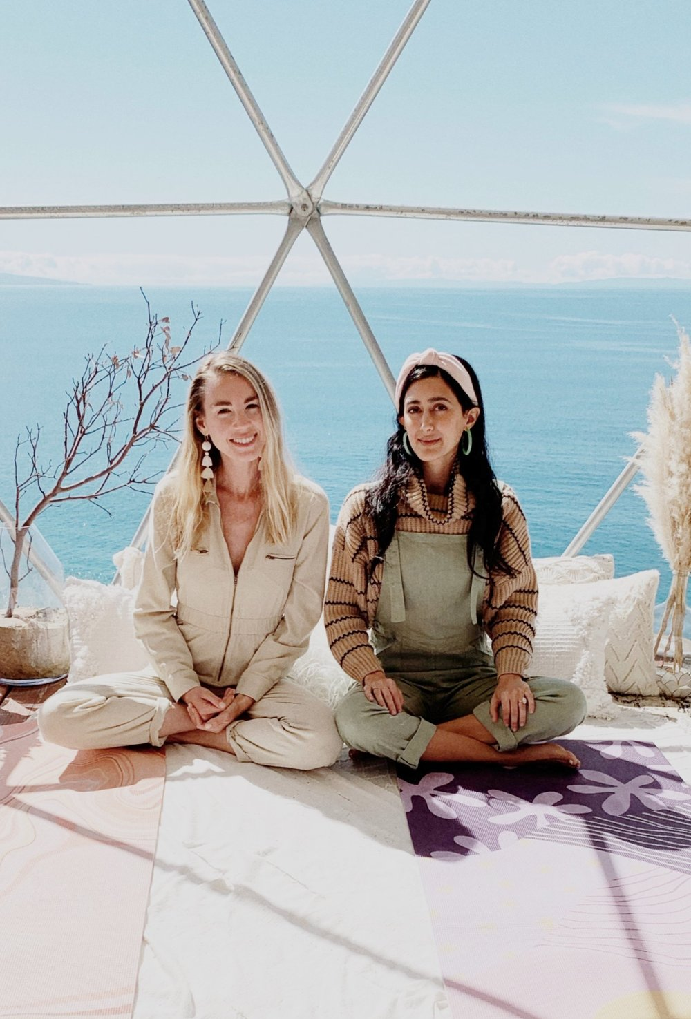 Jessie and Tara, co-founders of HOW YOU GLOW