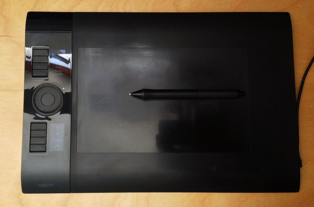 My Personal Intuos 4