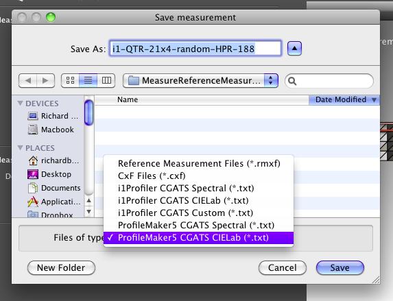Save Measurement Data