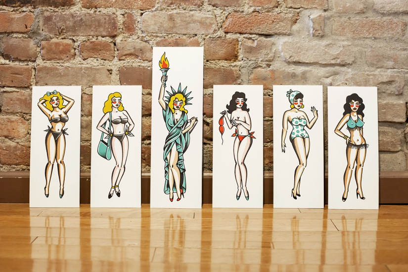 10_5BORONYC_X_SMITH_ST_TATTOO_Pinup_Series_Parlour_Set_OG_Art_Wall.jpg