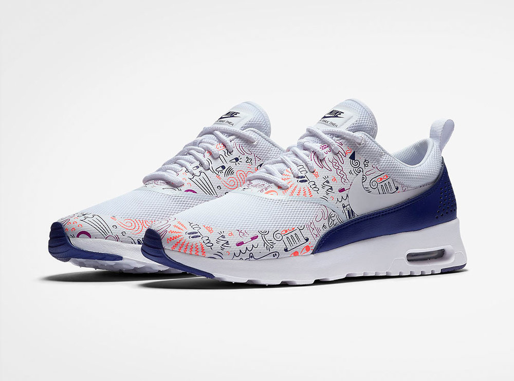 buy popular 27be6 25e93 ... The full collection includes a Roshe One, Internationalist, Air Max Thea,  Cortez and  nike air max thea harrington  Custom cut ...