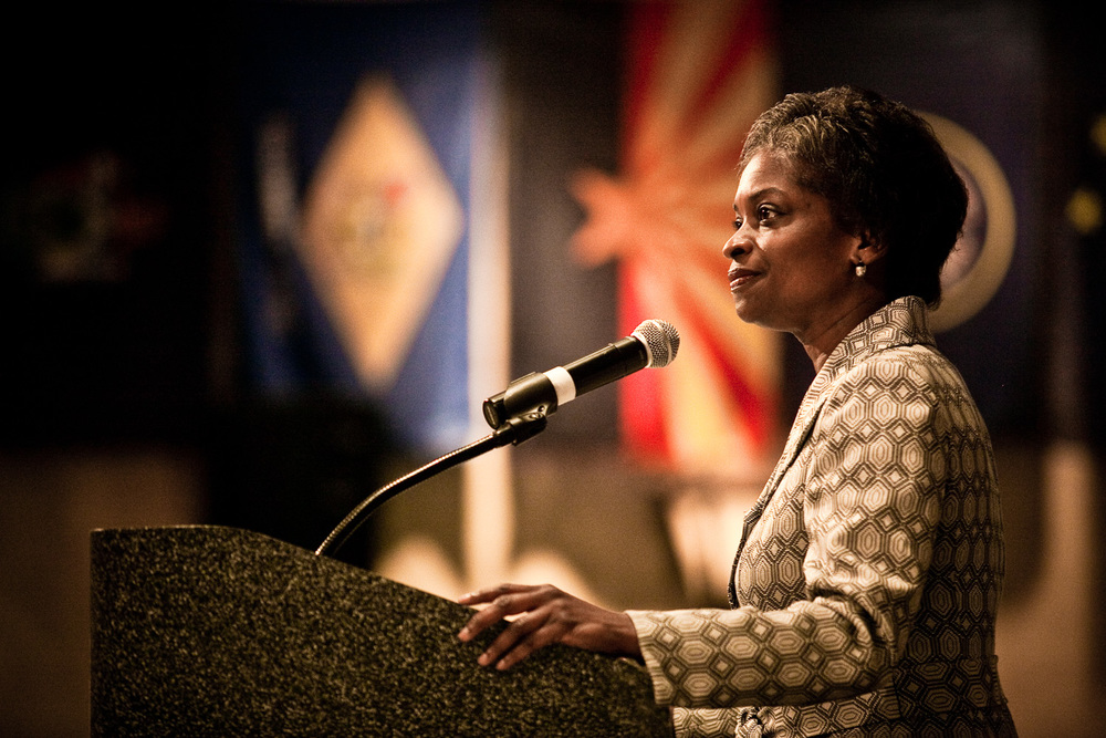 Mignon Clyburn addresses the 2011 National Rural Assembly Gathering
