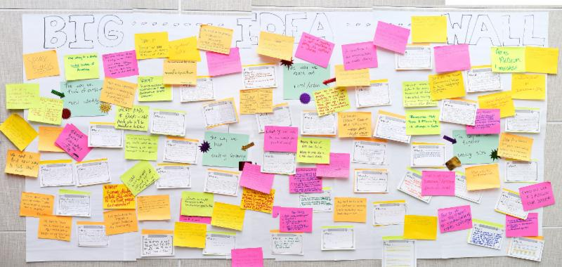 "Read all ""What If"" statements from our Big Ideas board  here ."
