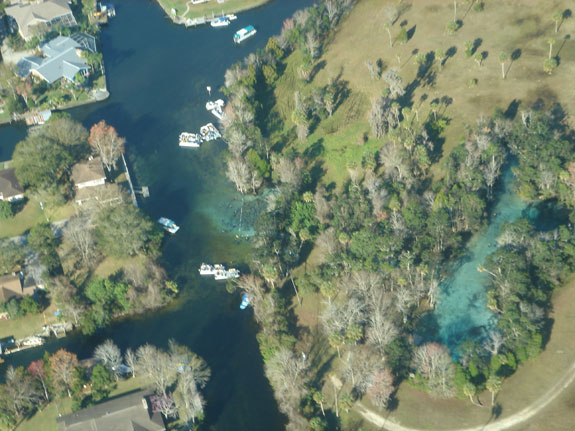 Three Sisters Springs Florida Map.Three Sisters Arial Photos Paddleboard Kayak And Swim With A