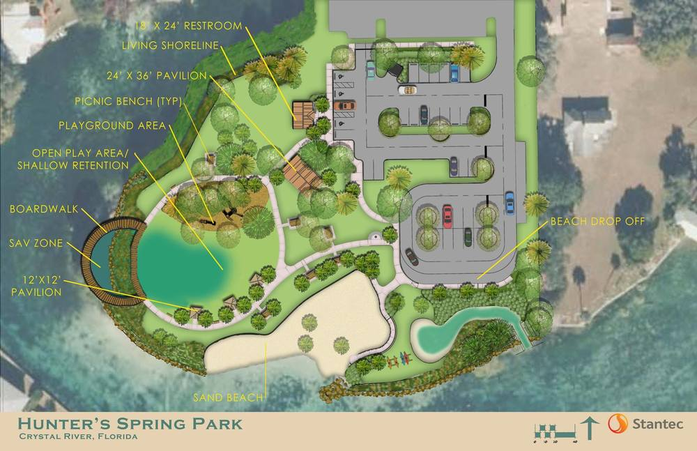 Three Sisters Springs Florida Map.Hunter Springs Park Paddleboard Kayak And Swim With A Manatee In