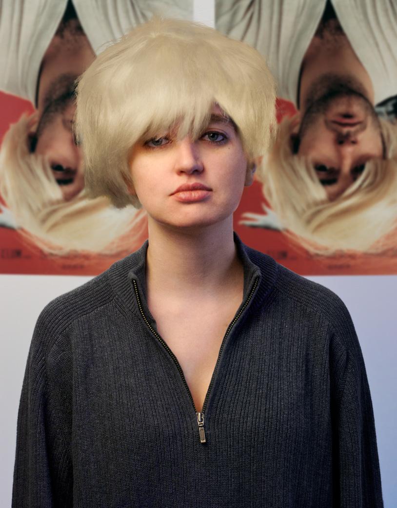 Rosalind Grush as Douglas Gordan as Kurt Cobain as Andy Warhol as Myra Hindley as Marilyn Monroe