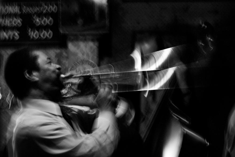 Fred Lonzo on Trombone