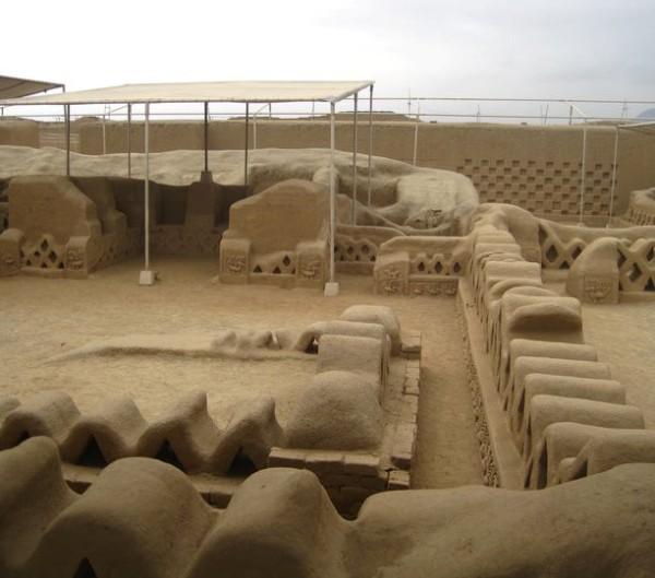 Chan Chan ruins, near Ica. Peru [].jpg