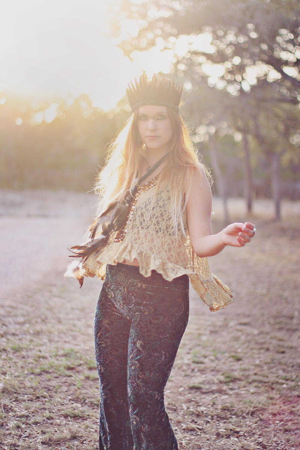 Goldust Lookbook via The Bohemian Collective