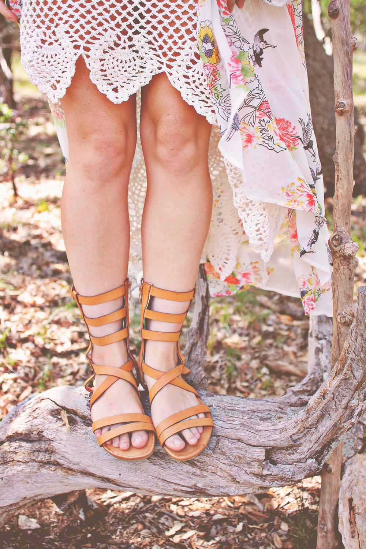 Summer Romance Lookbook via rootsandfeathers.com