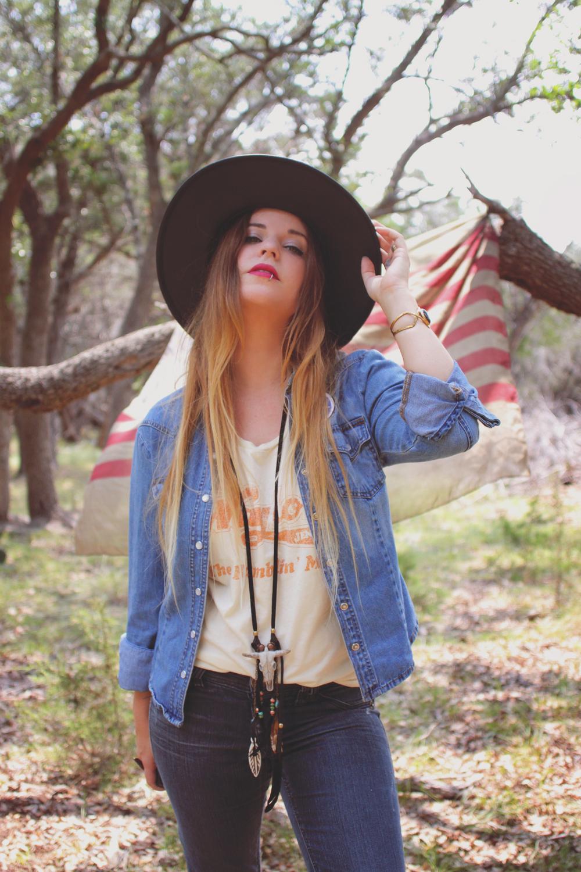 Americana Lookbook via bohemiancollective.com