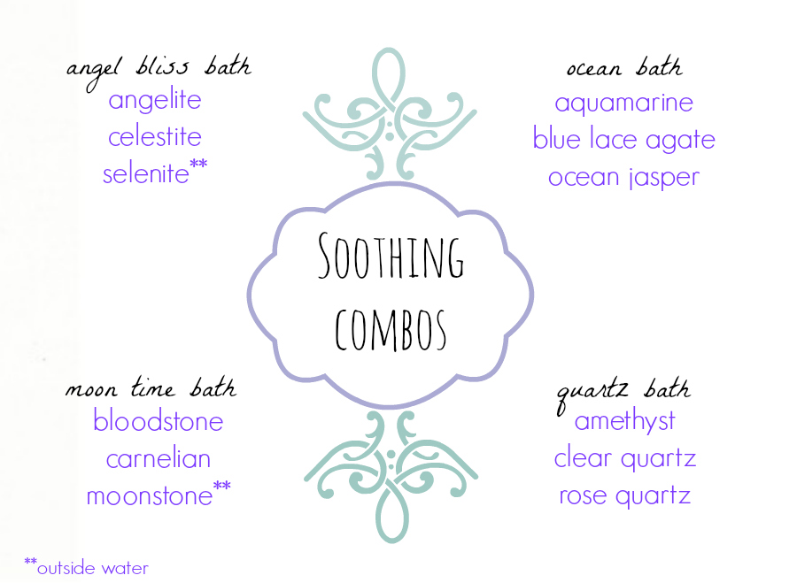 these combos are in my Stone Medicine E-course