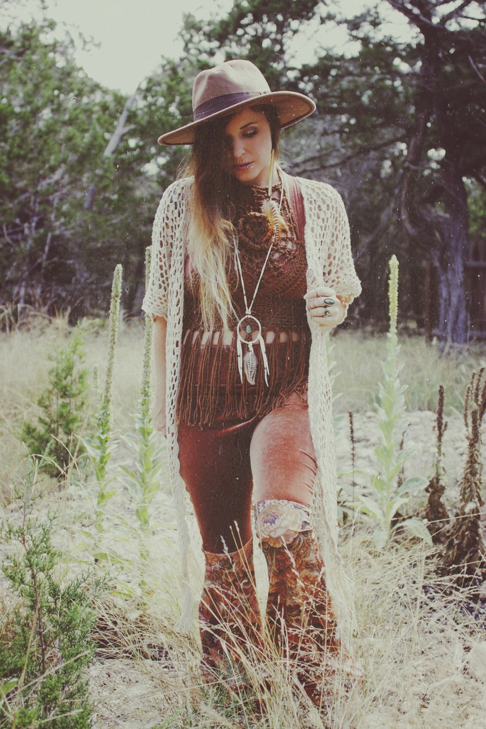 Velvet Dust Lookbook via bohocollective.com