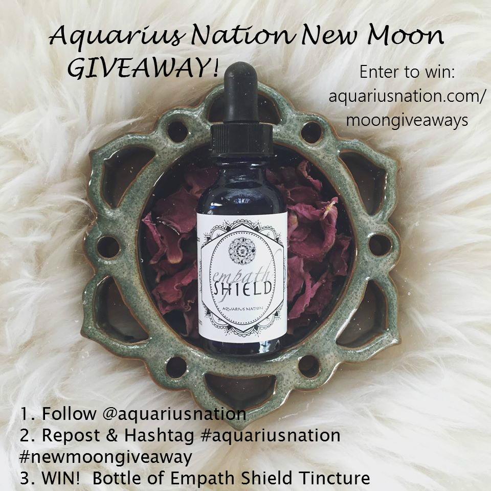 Aquarius Nation New Moon Giveaway