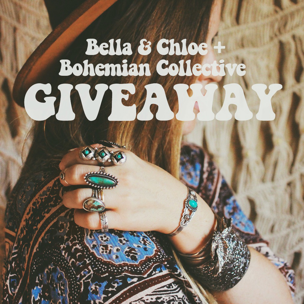 Bella & Chloe X Bohemian Collective Giveaway