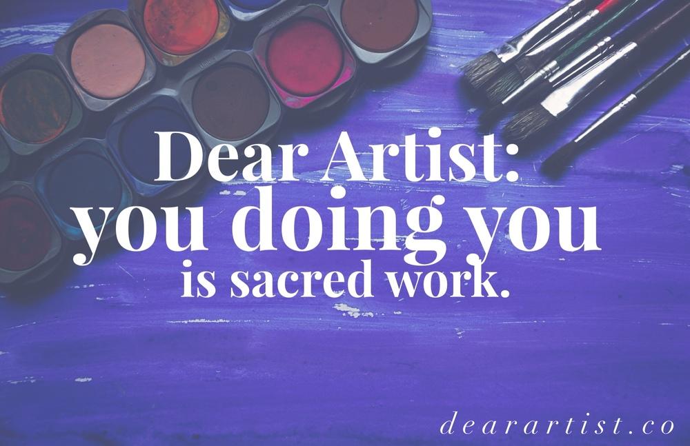 Dear Artist