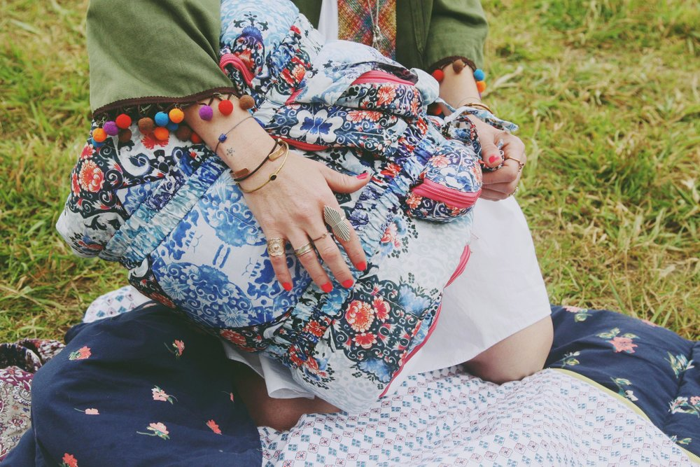 Sleeping Beauties Boho Sleeping Bags via bohocollective.com