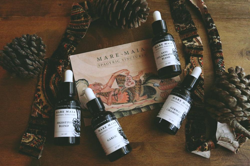 Mare Maia Tinctures via bohocollective.com