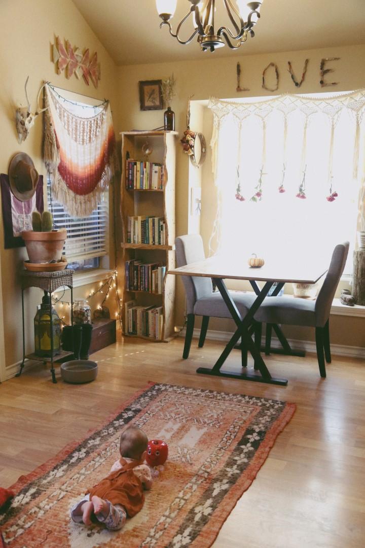 A Cozy Boho Nook Dining Area Welcome Boho Babes