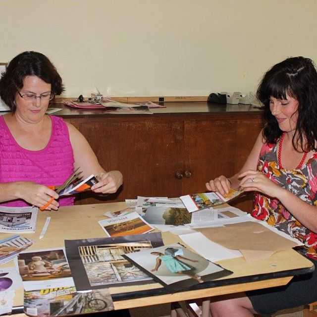 Slowly compiling images from our performances. A special thanks to Joanne Martin, LCSW who ran a collage workshop before our August 15th performance. Through the workshop they explored ways that art and creating can be part of the healing process. #art #healing #create