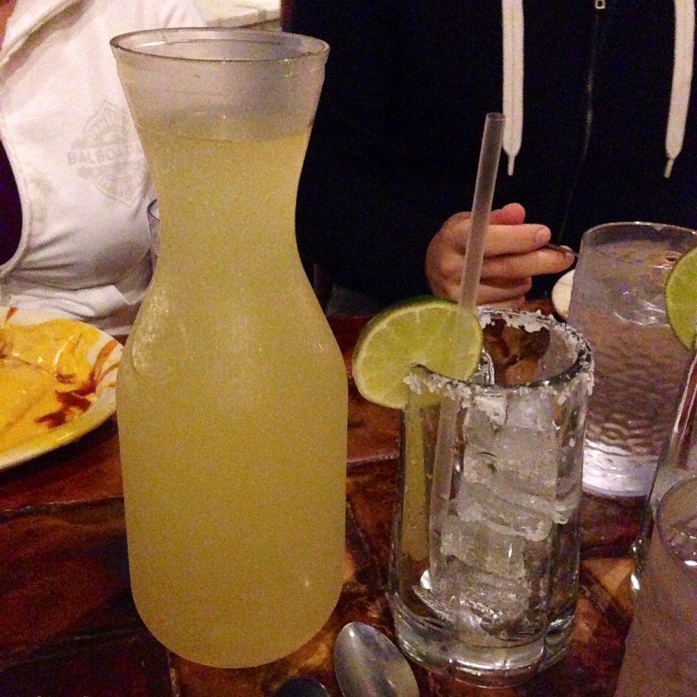A liter of margarita. Yes.