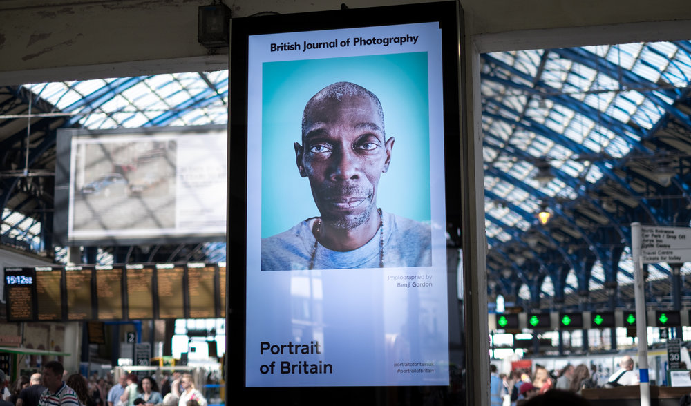My portrait of Maxi Jazz (Faithless) up as part of the Portrait of Britain exhibition, for British Journal of Photography.