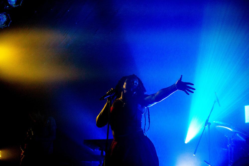 Singer 'Nao' - Brighton