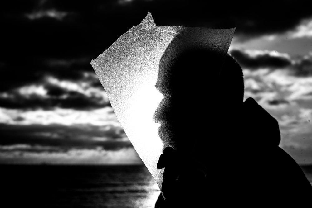 Press shot for music producer 'North Sea Navigator'