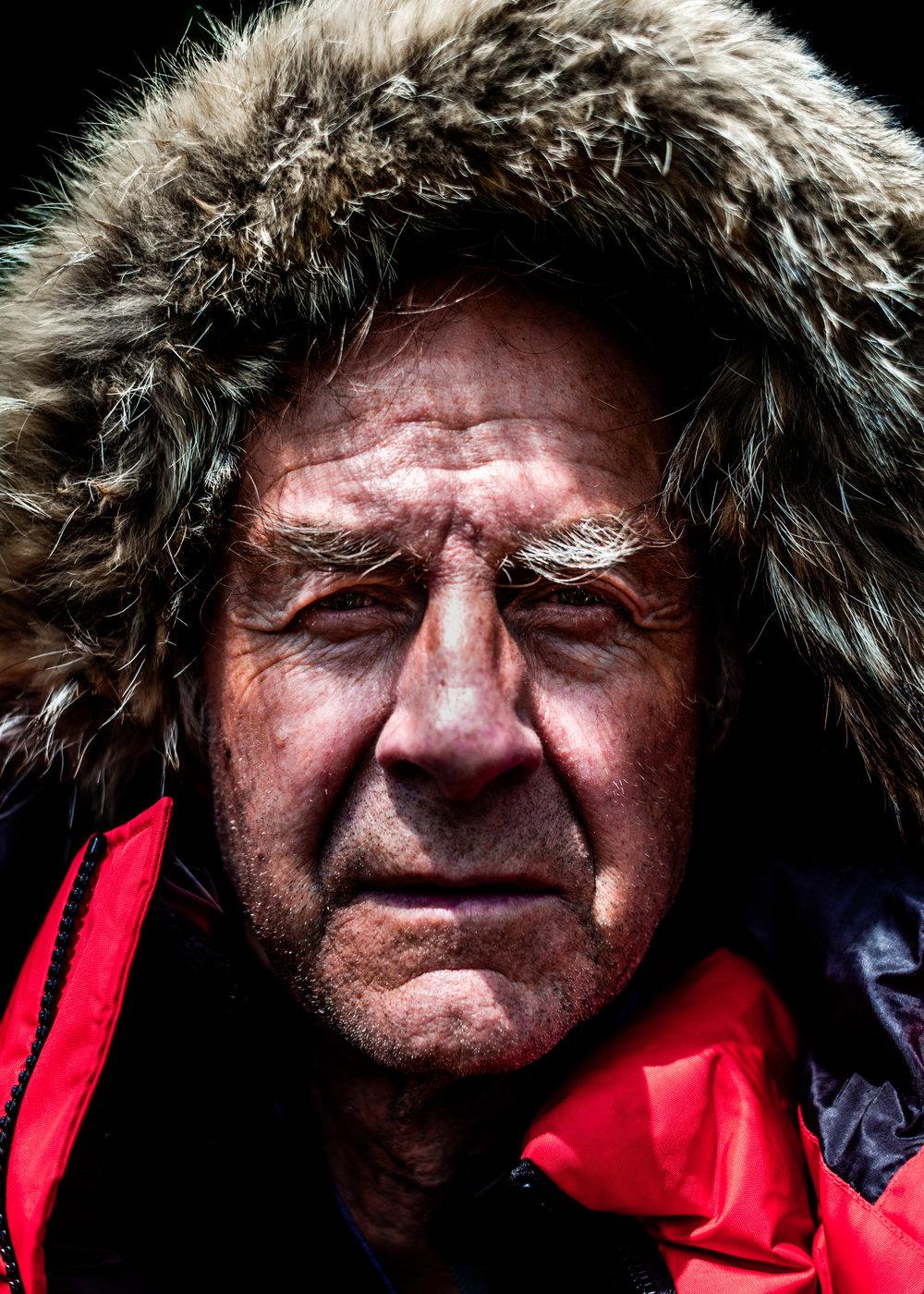 'Sir Ranulph Fiennes' - Portrait commission.