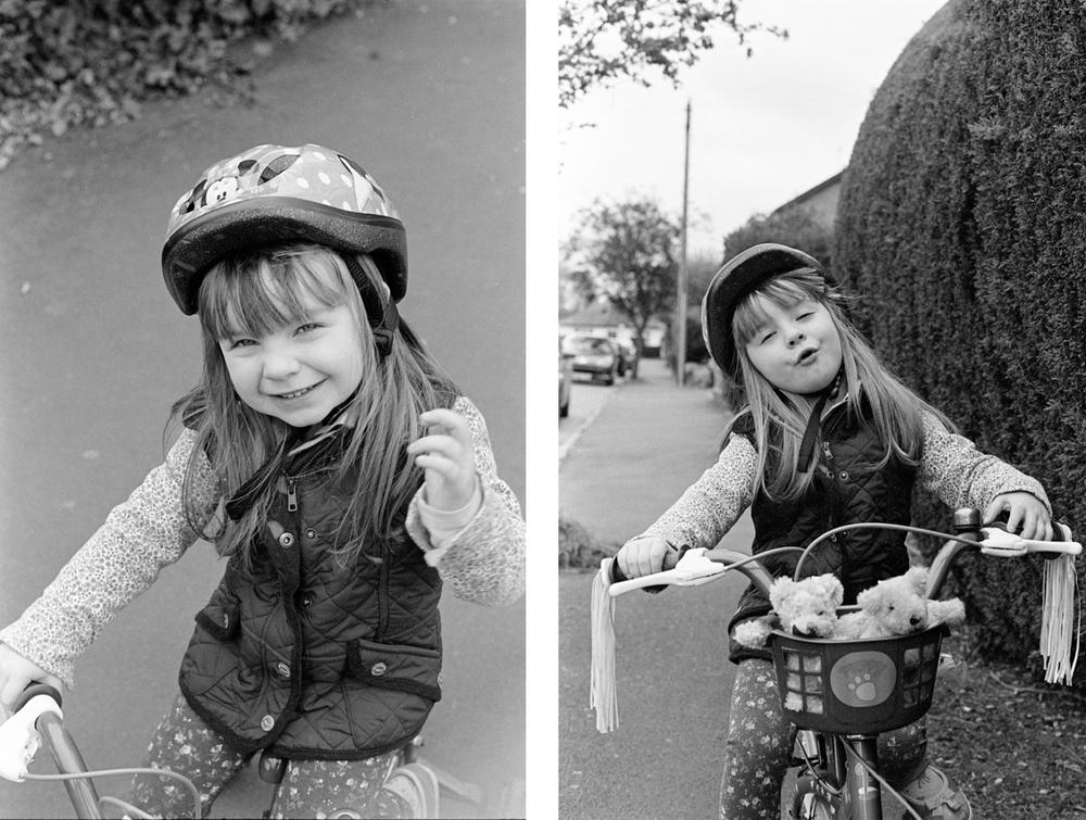 Ambers first bike