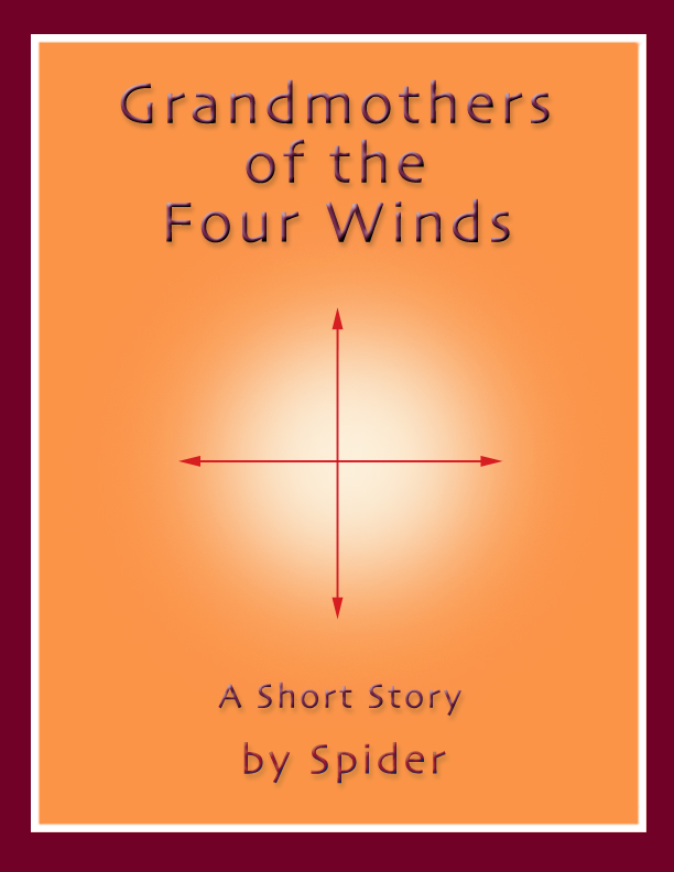 Grandmothers of the Four Winds Cover design c. 2002, Peter Shefler