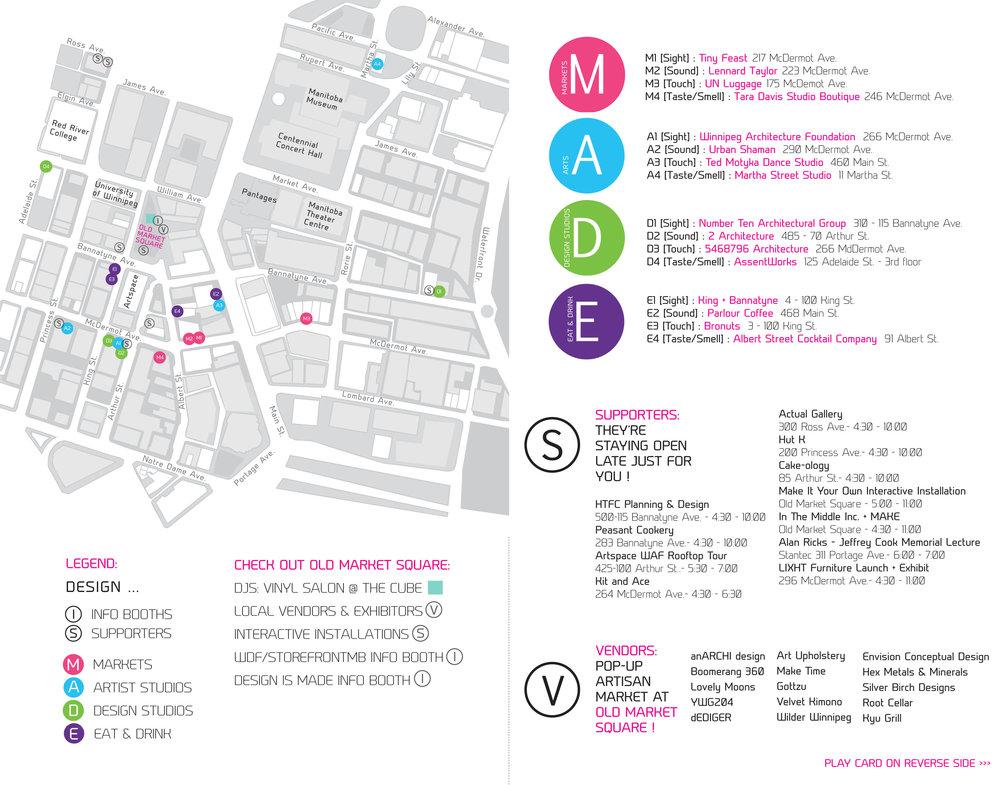 Event map + handout