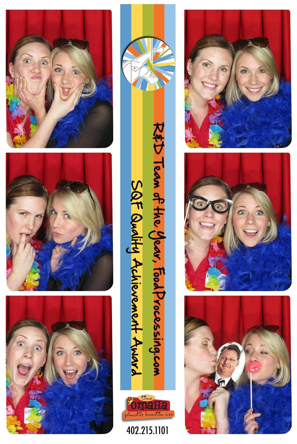 Corporate Party Photo Booth Rental Omaha