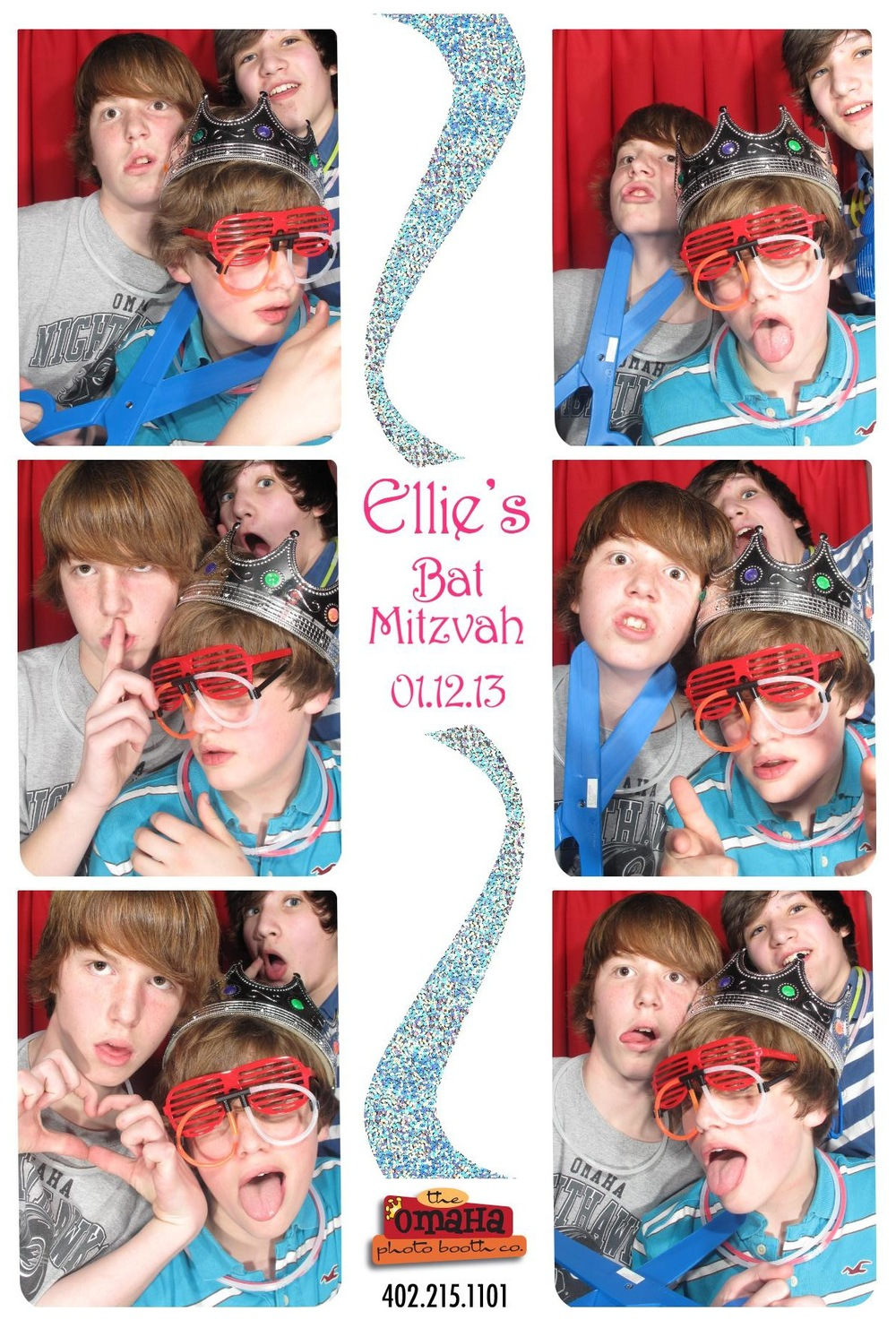 Bar and Bat Mitzvah Photo Booth Rental Omaha 3