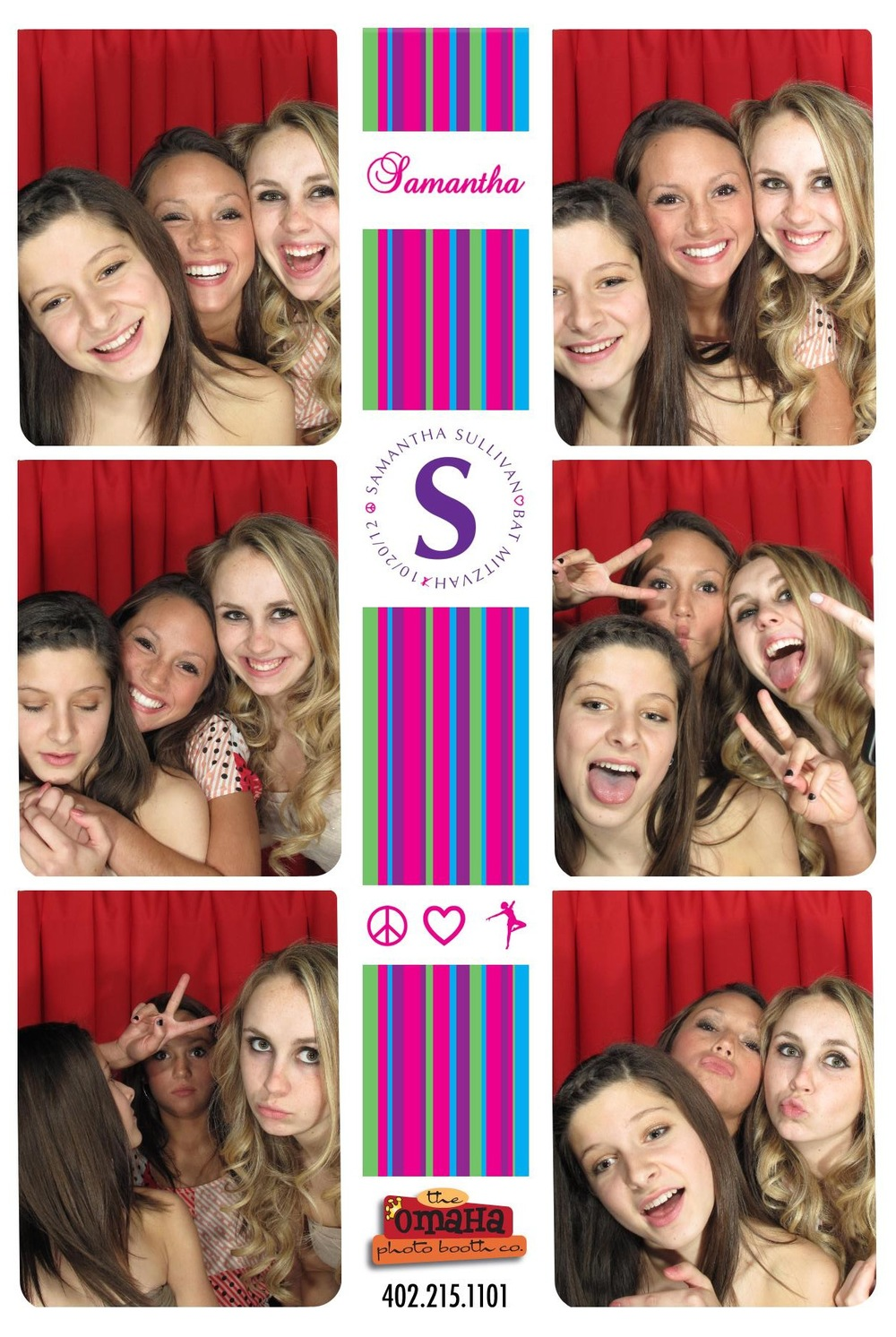 Omaha Photo Booth Rental Bar bat Mitzvahs