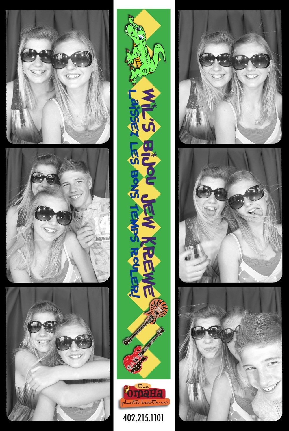 Omaha Photo Booth Rental Bar and Bat Mitzvah