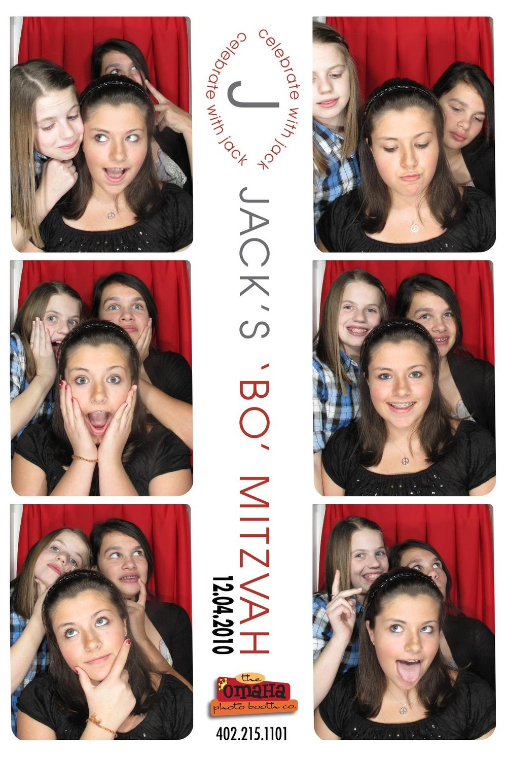 Omaha Photo Booth Rental Bar and Bat Mitzvah 2
