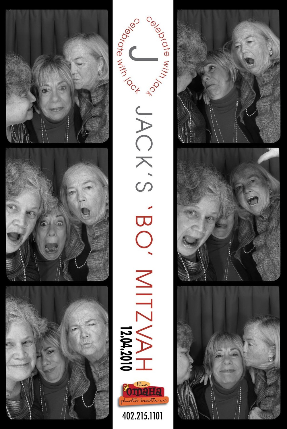 Omaha Bar and Bat Mitzvah Photo Booth Rental
