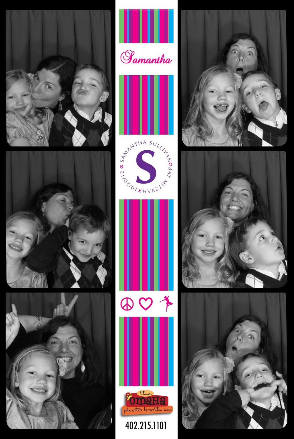 Omaha Photo Booth Bar and Bat Mitzvah Rental