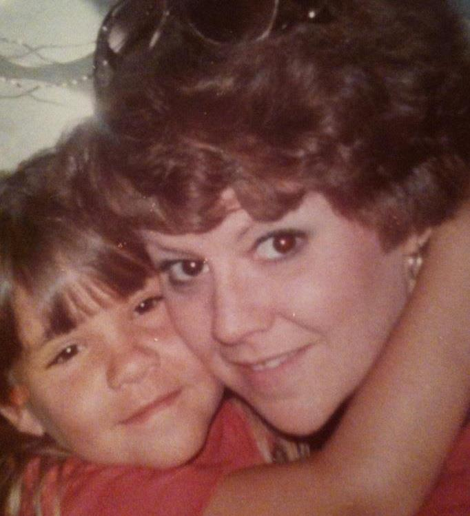 One of my favorite childhood pictures with Mom.