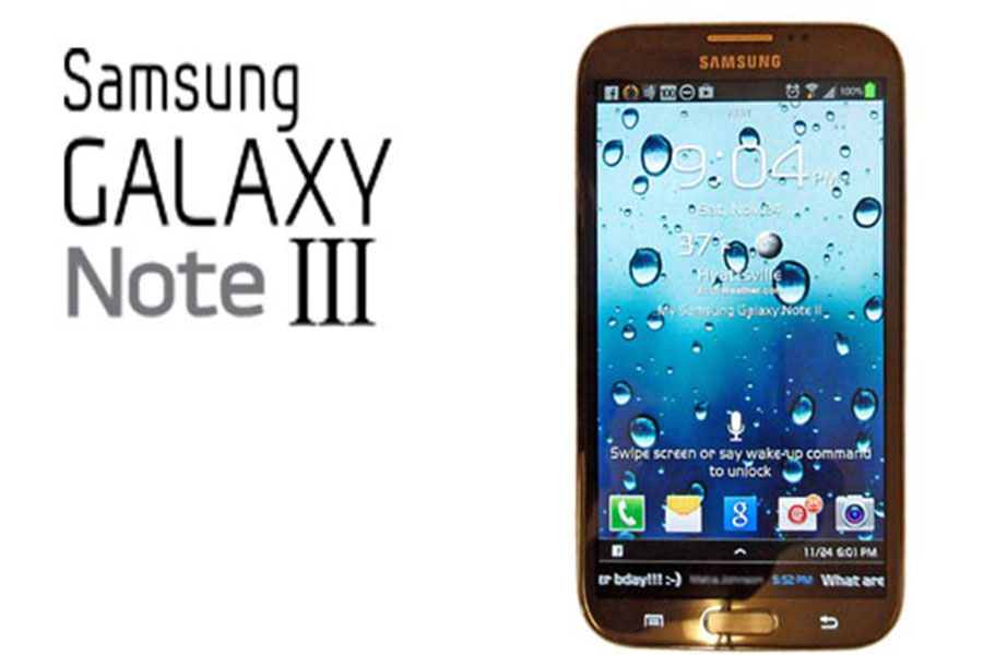 Leaked photo of the Samsung Galaxy Note III